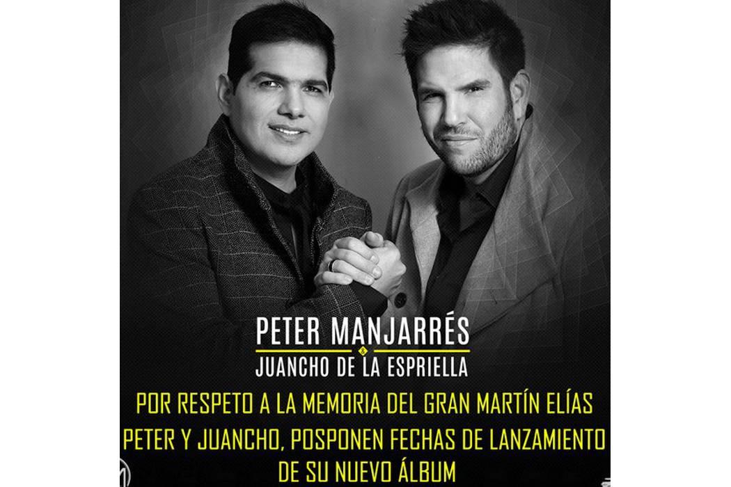 Aplazan el lanzamiento de su nuevo sencillo, por muerte de Martín Elías