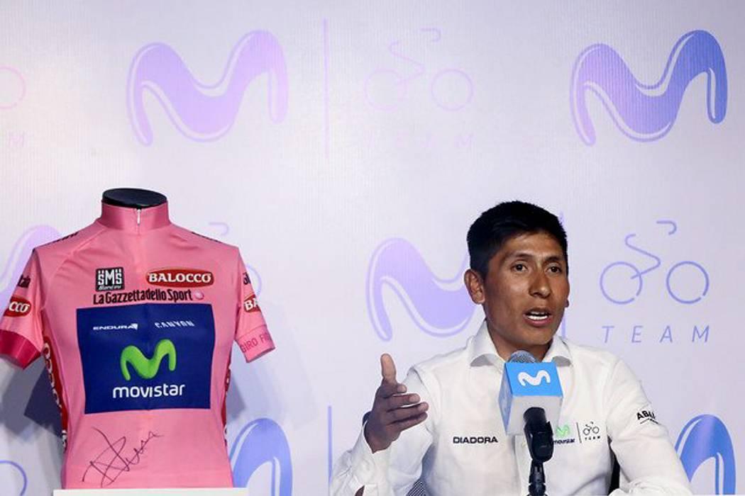 Nairo Quintana arremetió contra la Federación Colombiana de Ciclismo