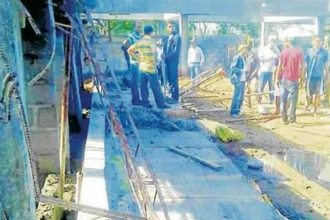 Accidente laboral deja a un obrero muerto y a otro herido