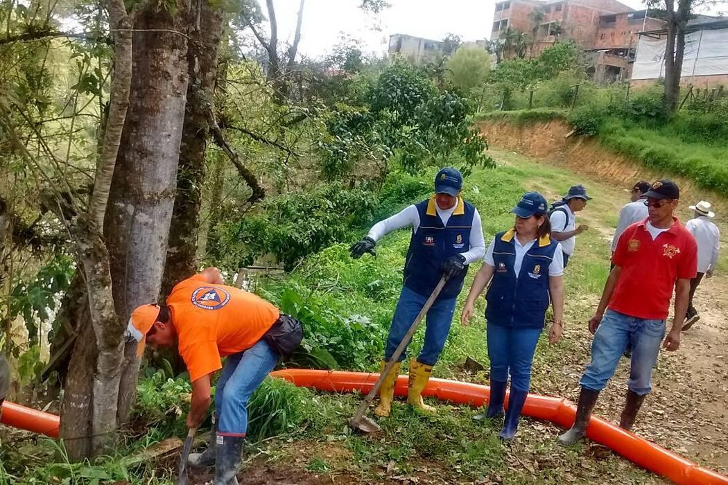 Evacúan 100 familias del municipio de La Belleza en Santander