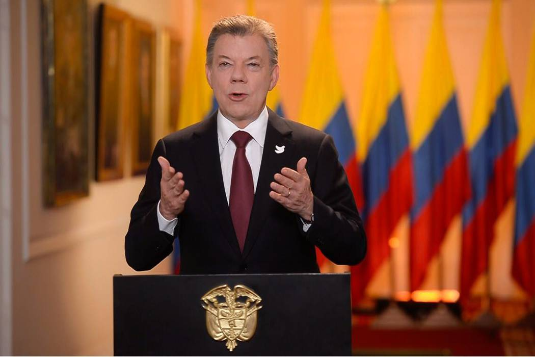 Este 18 de mayo será el primer encuentro oficial entre Santos y Trump