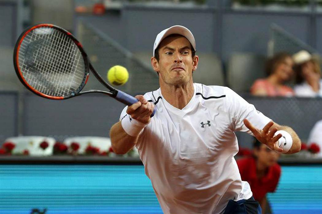 Andy Murray comienza con pie derecho en el Master 1000 de Madrid