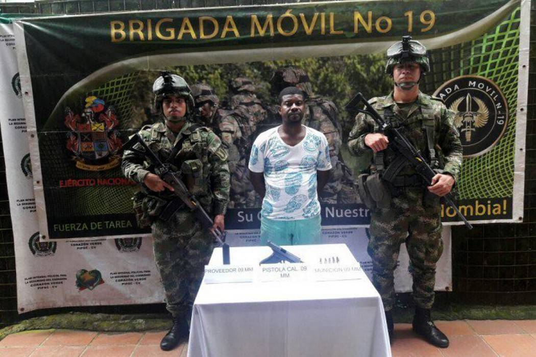 Capturado alias 'calixto', jefe de finanzas del frente Comuneros del Sur del Eln