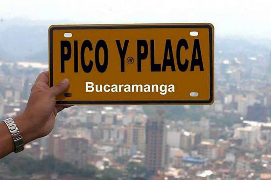 Se abre encuesta para elegir sistema de Pico y Placa en Bucaramanga