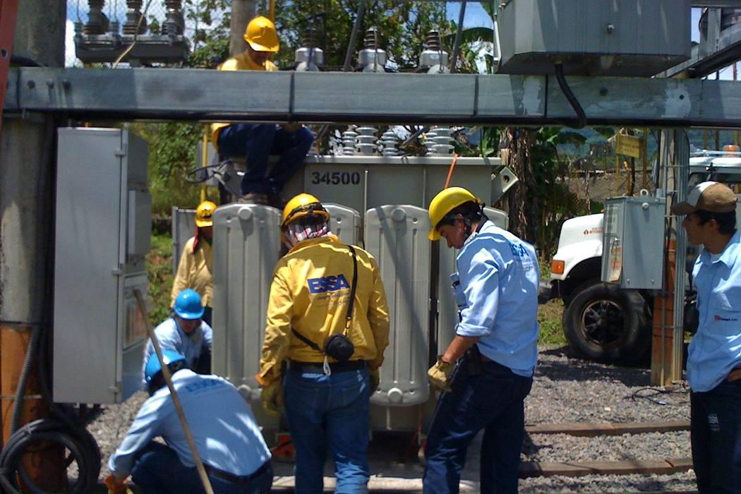 Electrificadora suspendió el servicio en 12 municipios de Santander