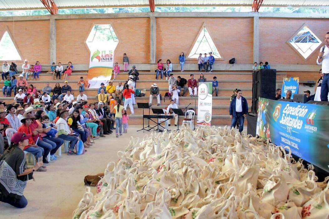 Con el programa 'Pujanza Santandereana', promueven  comercialización de productos de la provincia Comunera