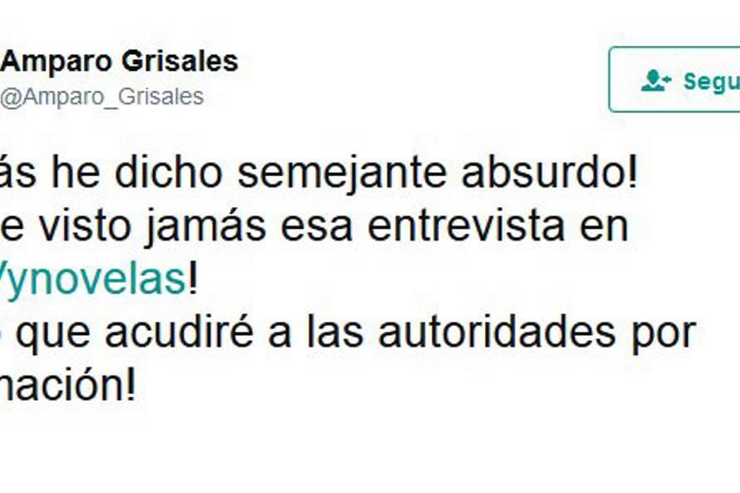 Amparo Grisales denuncia a sitio web que dice que ella ha tenido 169 parejas