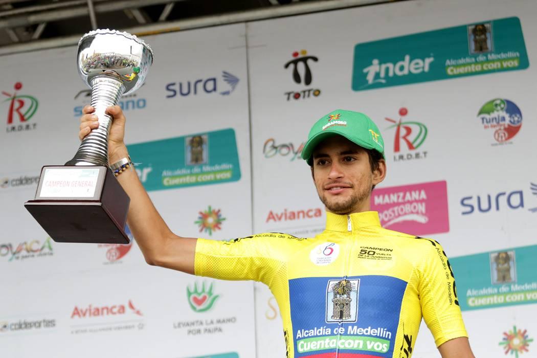 Giro sub 23, el nuevo reto de Sergio Martínez