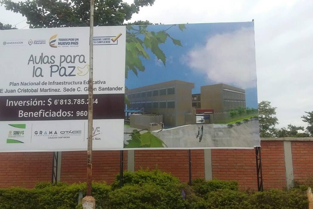 La Secretaría de Educación se comprometió con arreglos