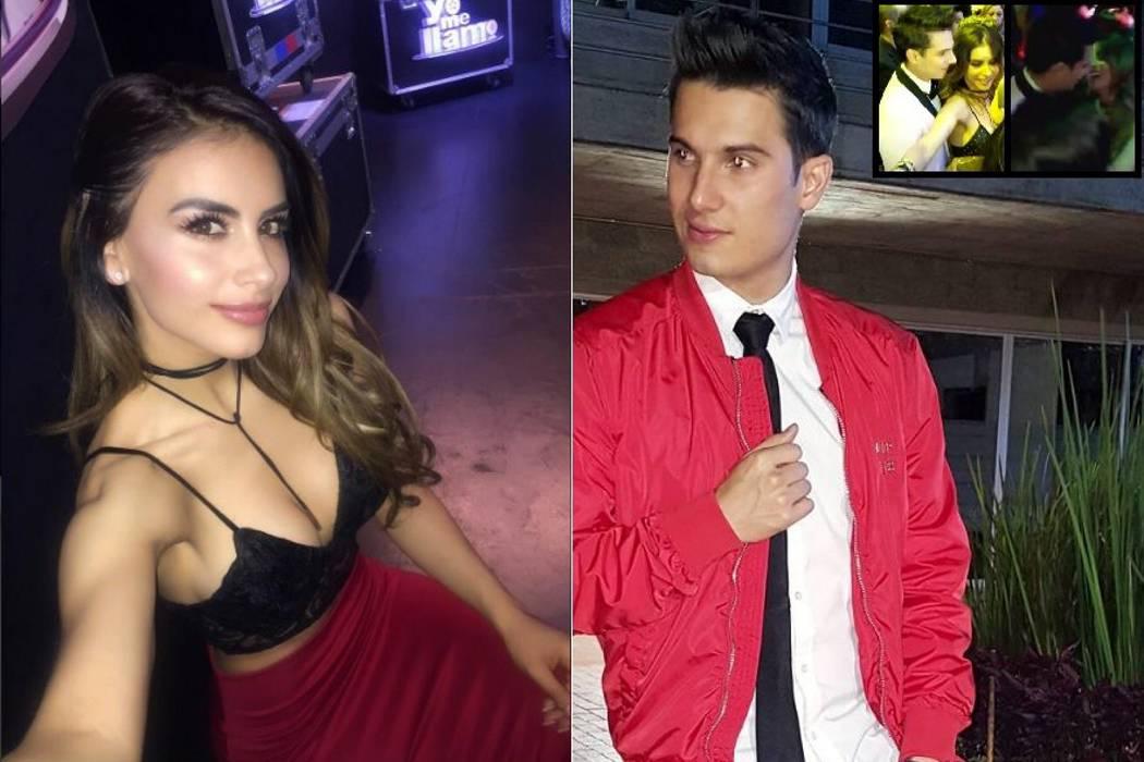 Jessica Cediel y Pipe Bueno,  muy cercanos en la fiesta  del final de 'Yo me llamo'