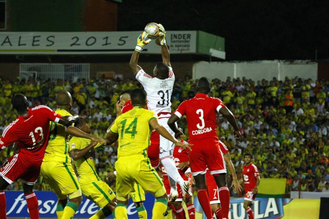 Estas son las estadísticas del partido entre Atlético Bucaramanga y América