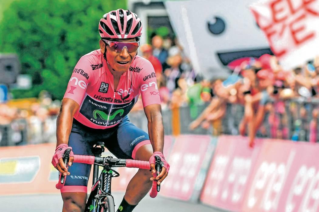 Quintana se juega el título del Giro en la contrarreloj