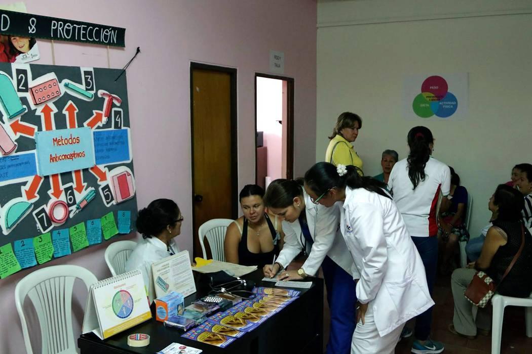 Se realizó jornada de salud en la Casa de la Mujer