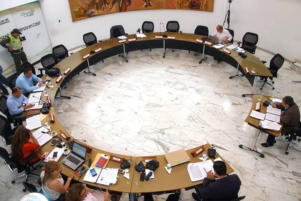 Imagen del Concejo de Bucaramanga, entre las peores de Colombia