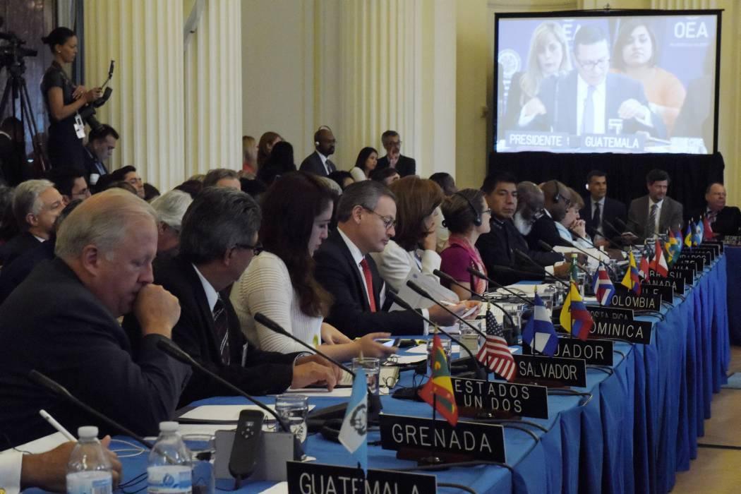 Por falta de consenso OEA suspendió reunión de cancilleres sobre Venezuela