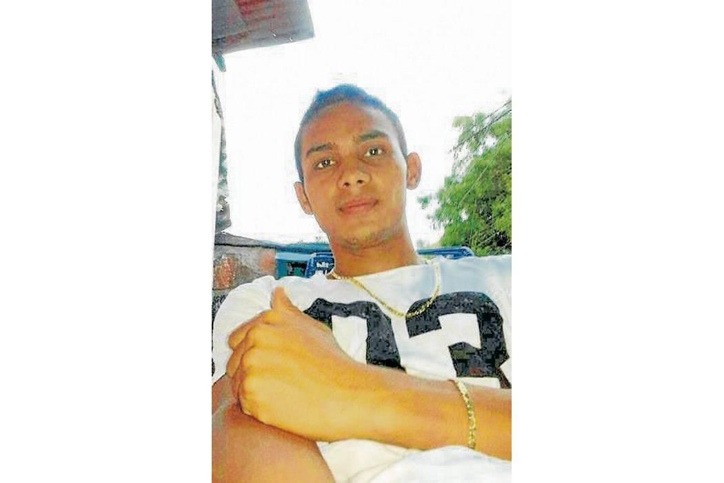 Asesinan con arma  de fuego a un joven