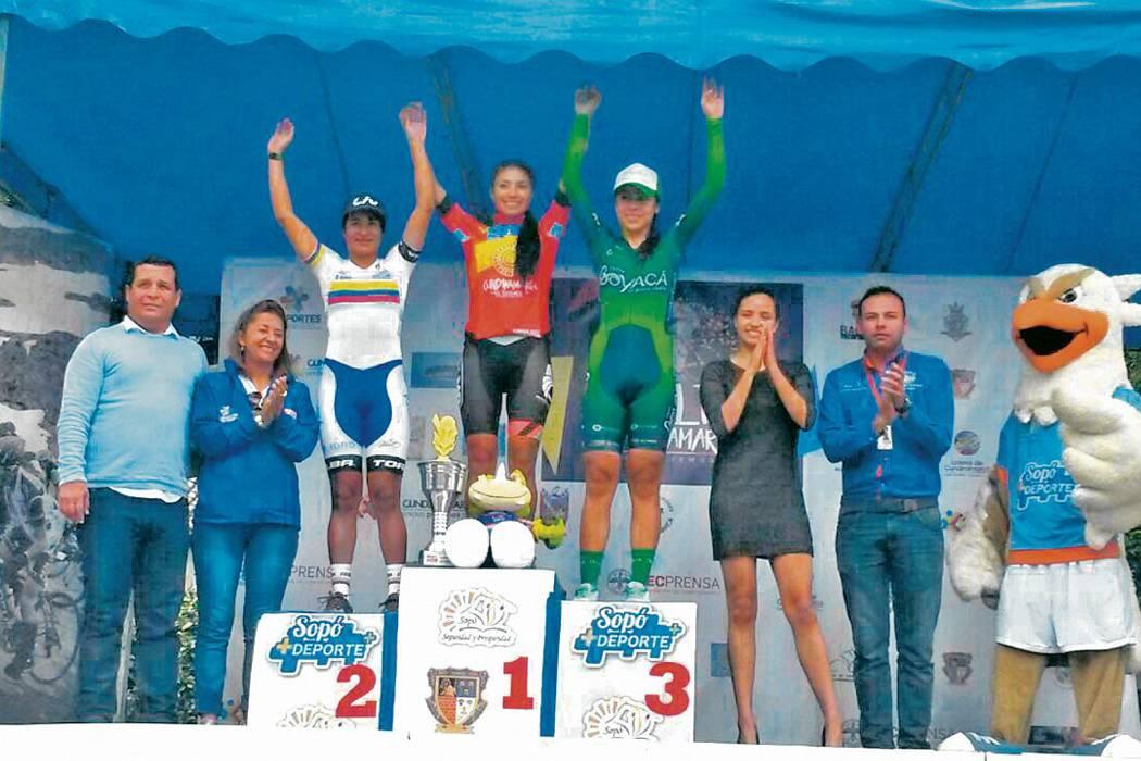 Santandereana Ana Sanabria sumó un podio más en su carrera