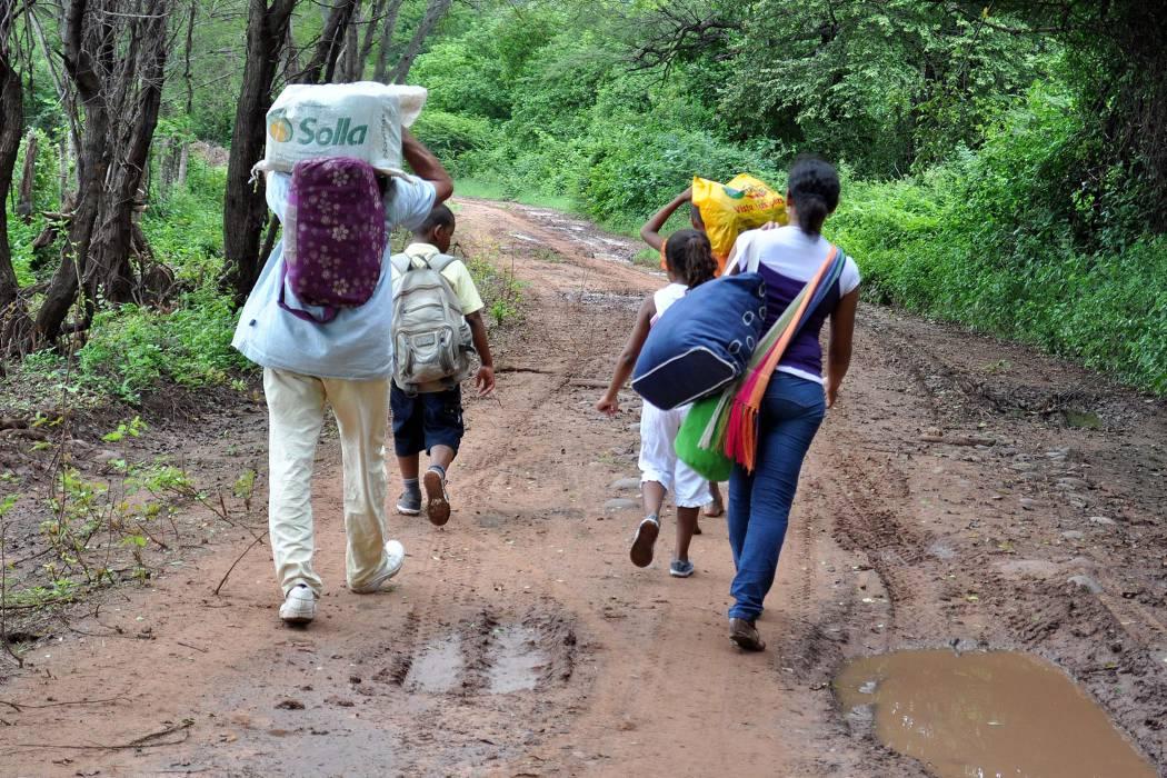 Colombia continúa en el segundo puesto de los países con más desplazados