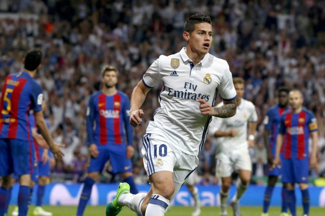 Queremos seguir con James, estamos encantados: Presidente del Real Madrid