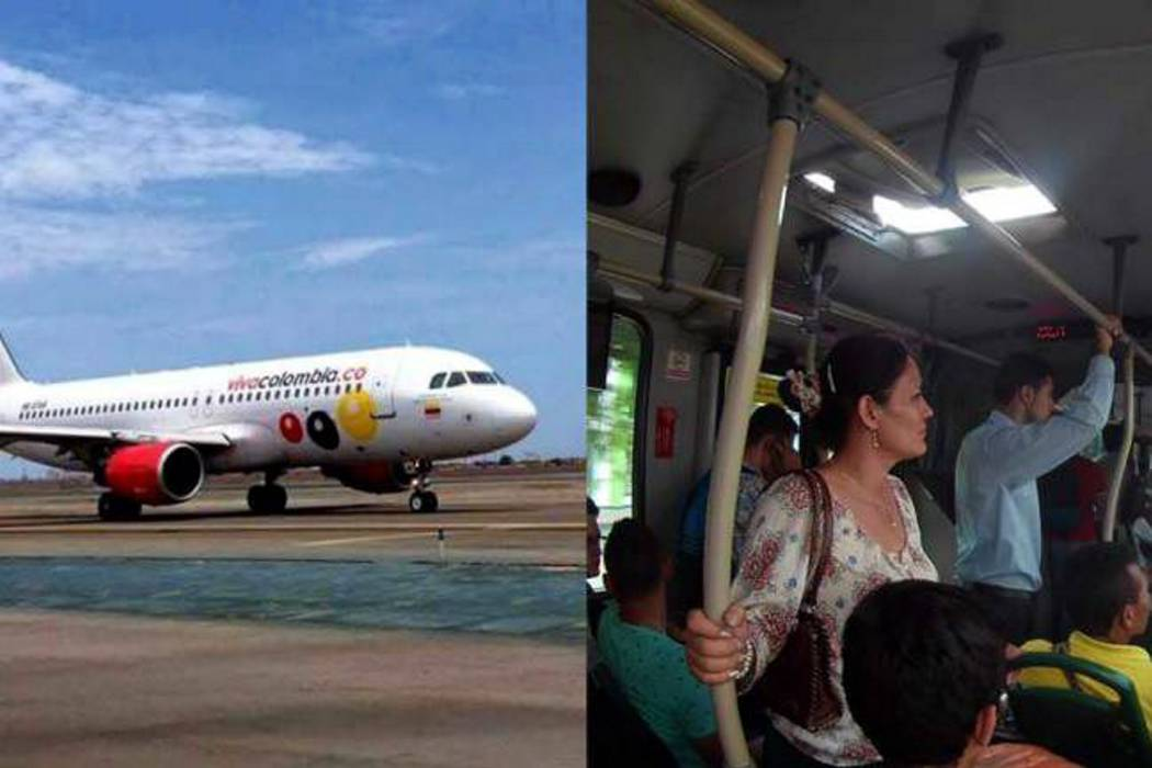 Aerocivil afirma que idea de VivaColombia sobre transportar pasajeros de pie es indigna