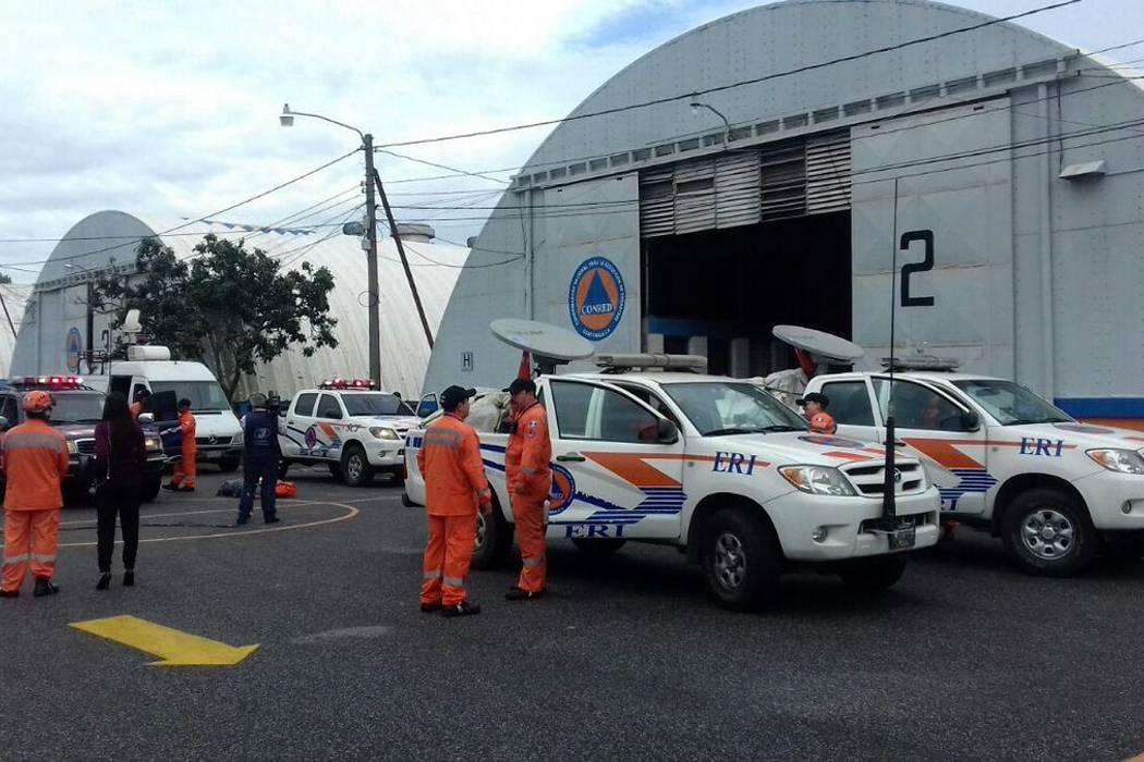 En cinco departamentos reportan daños por sismo de 6,7 en Guatemala