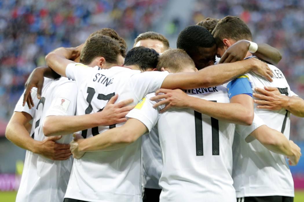 Alemania se quedó con la Copa Confederaciones
