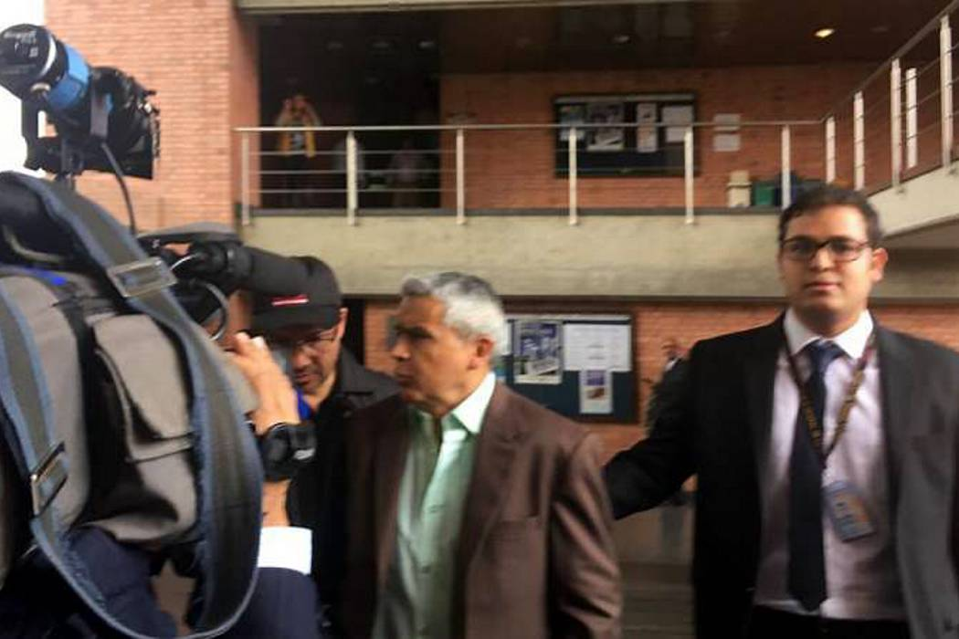 Secretario del Tribunal de Cundinamarca, Manuel A. Bautista, fue capturado