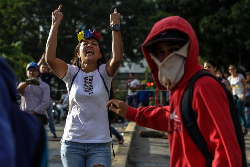 Capturan a más de 80 opositores durante paro general convocado en Venezuela