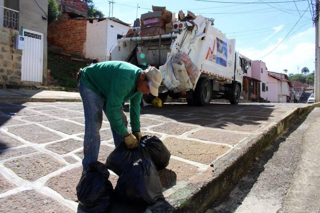 Acuasan rectifica los horarios de recolección de residuos