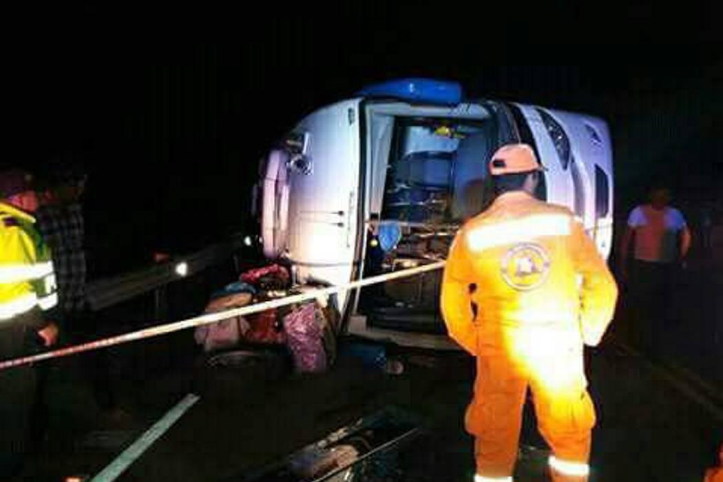 Accidente dejó un muerto y 34 heridos entre Santander y Boyacá