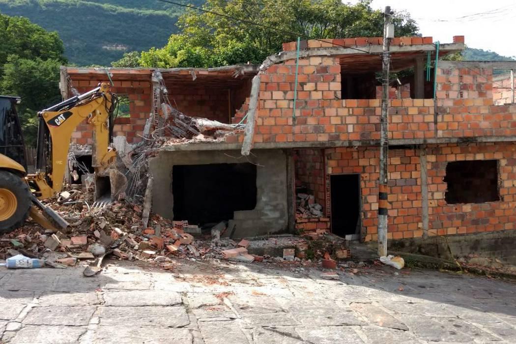 En San Gil se construye sin ningún permiso de Planeación