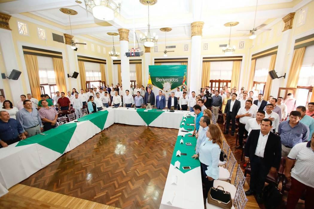 Se anunció la inversión para  tres municipios guanentinos