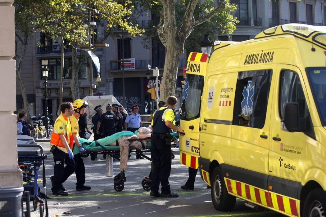 Confirman que un colombiano resultó herido tras atentado en Barcelona