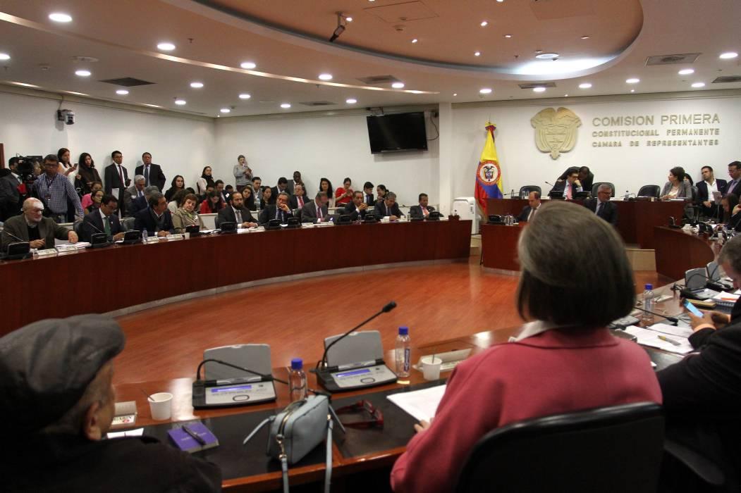 Cambio Radical anuncia voto negativo a la reforma política