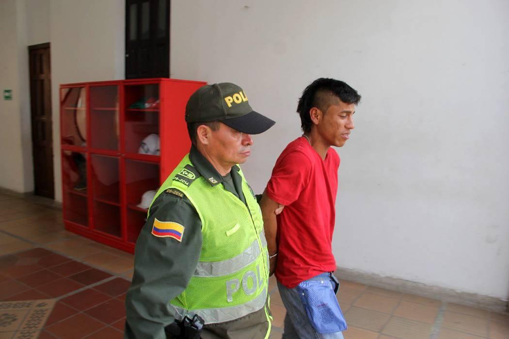 Capturan a alias 'Gorila' con estupefacientes en Bucaramanga