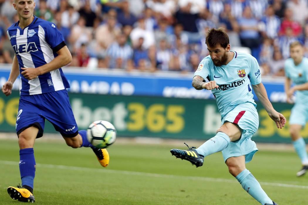 Determinante Lionel Messi, fulminante Atlético de Madrid