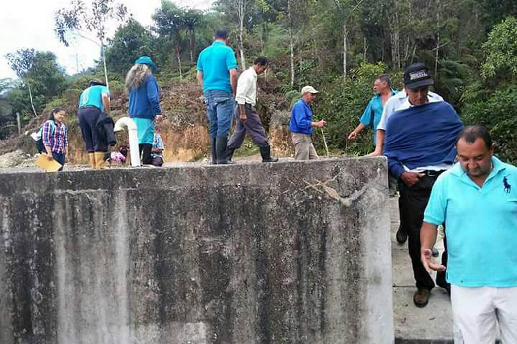 La vereda Aguablanca sigue esperando su acueducto