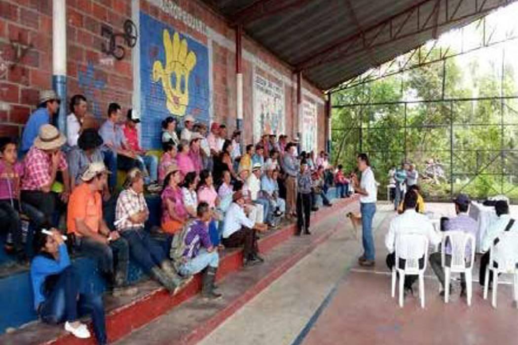 Exitoso encuentro cafetero en el municipio del Hato