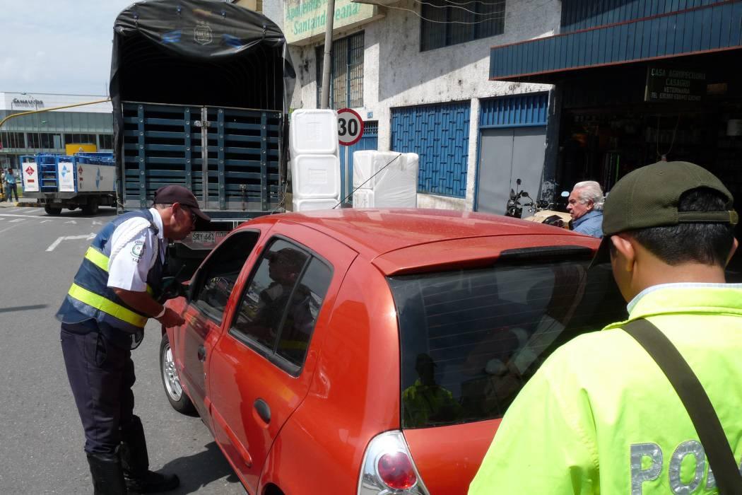 Si resolución del Pico y Placa en Bucaramanga no es válida; las multas tampoco
