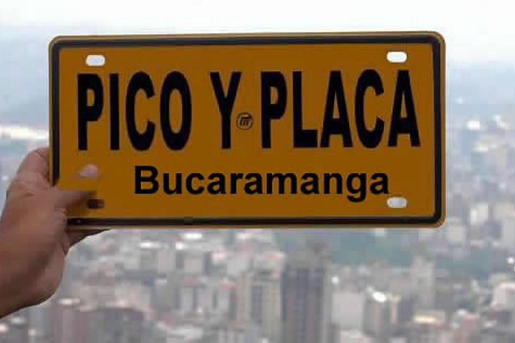 Este es el modelo de carta para que reclame por multa de Pico y Placa en Bucaramanga
