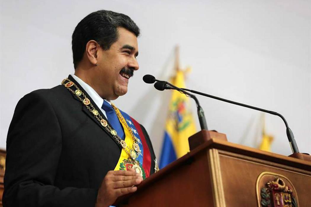 Maduro pide acusar de 'traidor a la patria' al presidente del Parlamento, Julio Borges