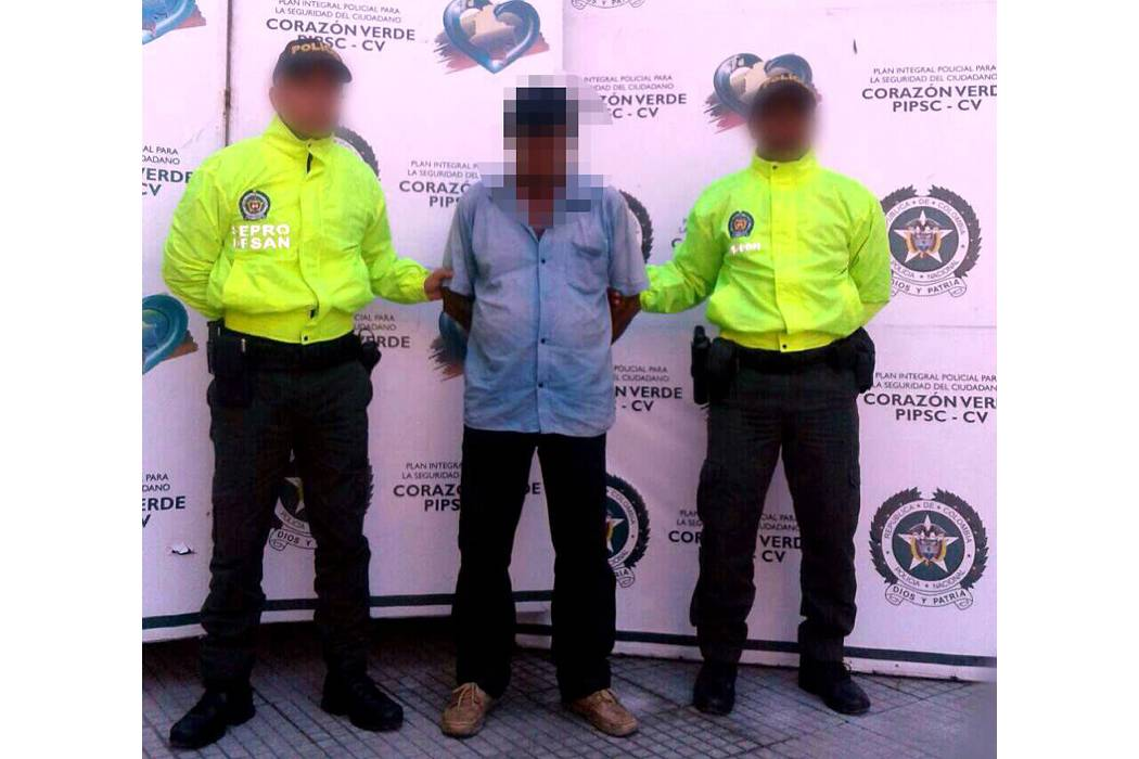 Capturan a un abuelo de  60 años por abuso sexual