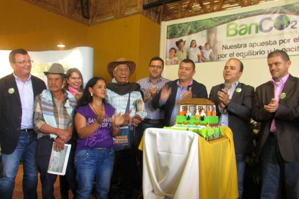 Seis nuevas familias se  vinculan al programa BanCO2