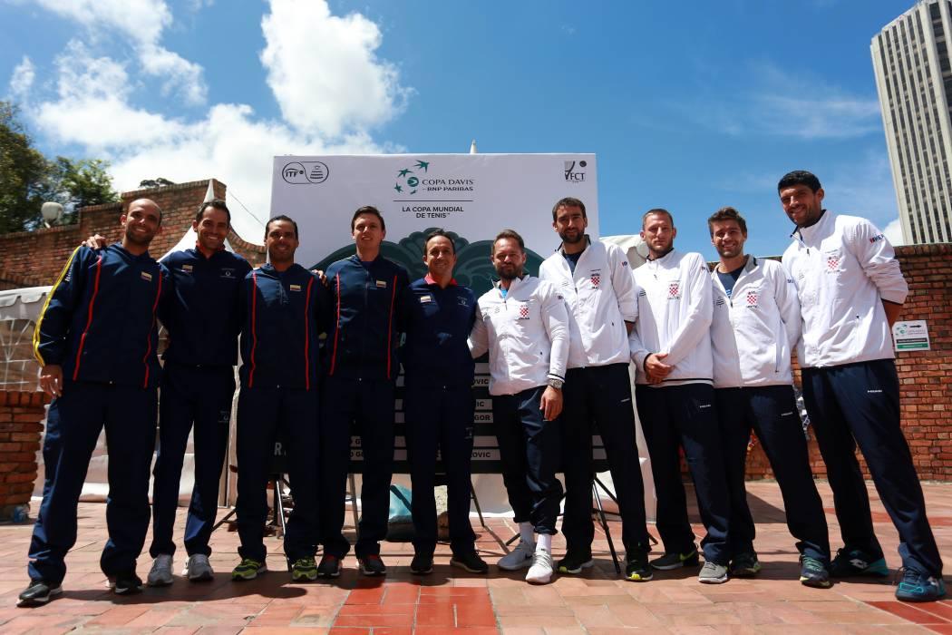 Colombia buscará el ascenso a la élite de la Copa Davis