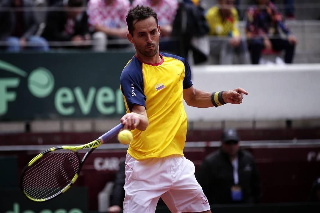 Colombia igualó la serie 1-1 ante Croacia en la Copa Davis