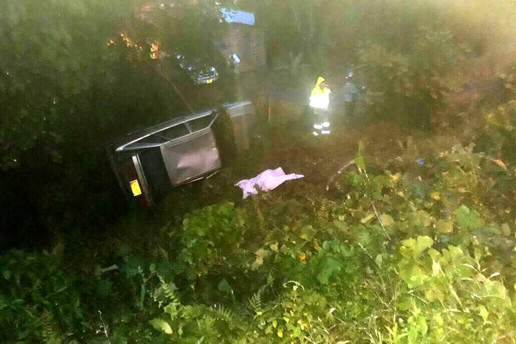 Accidente dejó un muerto y ocho heridos en Oiba
