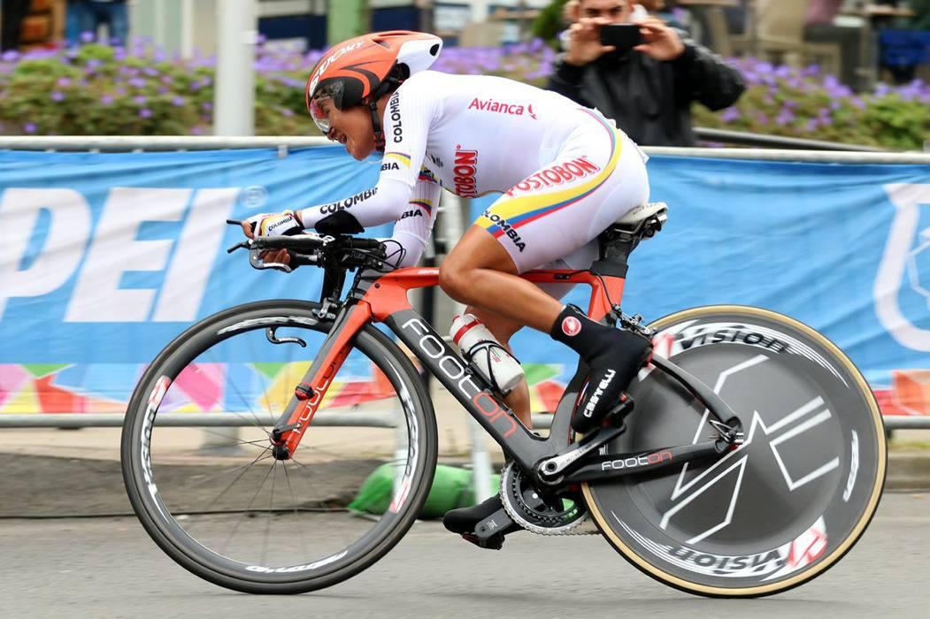 Buen estreno de Ana Cristina en los Mundiales de Ciclismo
