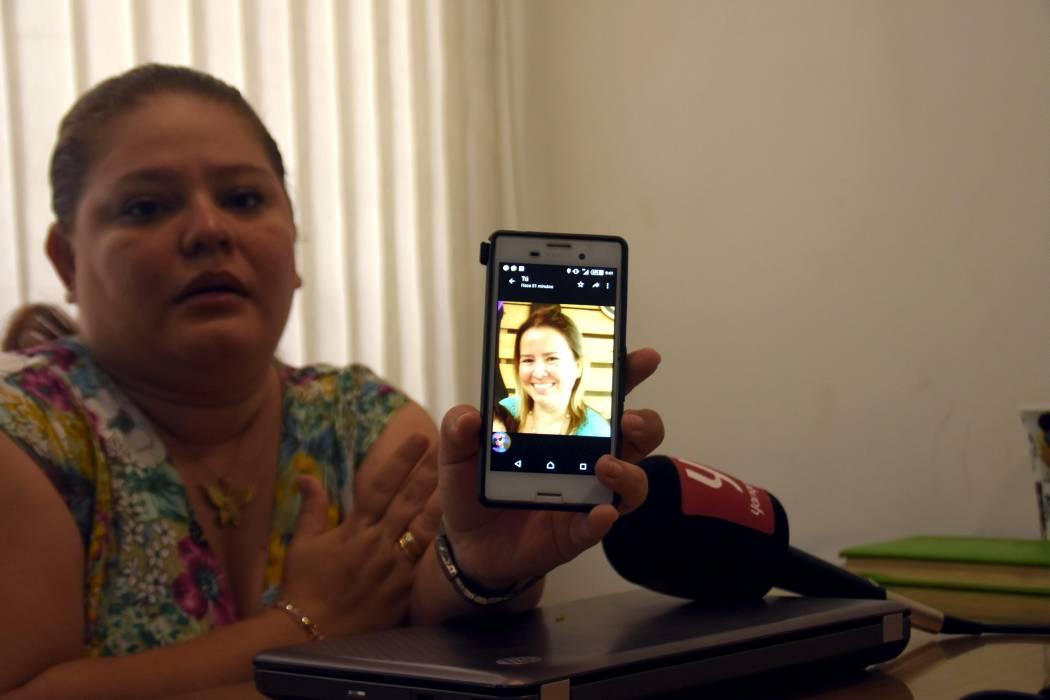 Familia barranqueña clama por noticias de pariente desaparecida