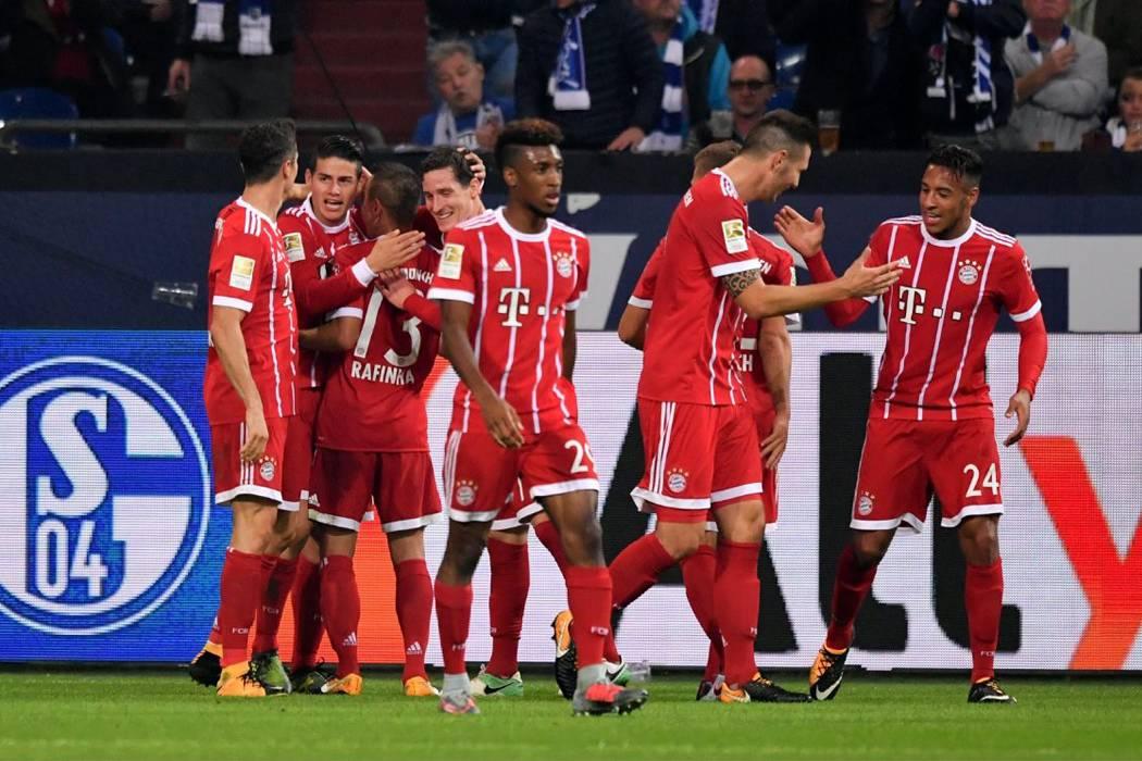 James se estrenó a lo grande en el Bayern