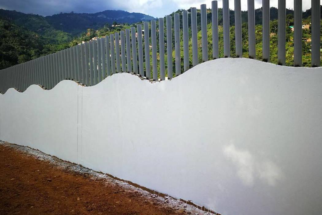 Falta un 10% para terminar muros en Recodo de La Florida y Altos de Villabel